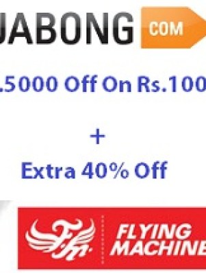 Flying Machine Offer Jabong