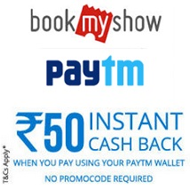 BookMyShow Paytm Wallet Offer