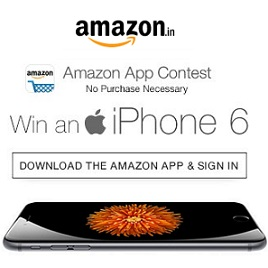 Amazon App Contest Win an iPhone 6