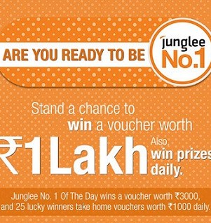 Junglee No 1 Contest