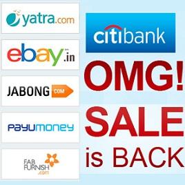 Citibank OMG Sale