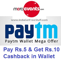 MeraEvents Paytm Offer