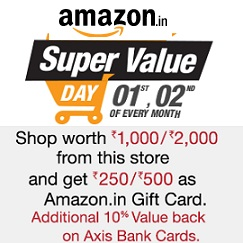 Amazon Super Value Day Offer