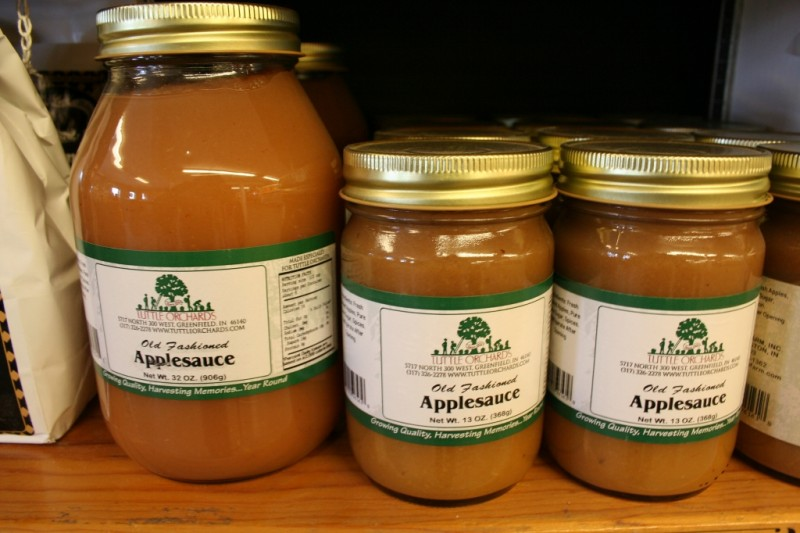 Tuttles Homemade Applesauce
