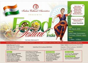ICA food festival of india