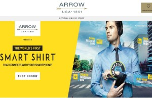 Arrow unveils Smart Shirt for office-goers