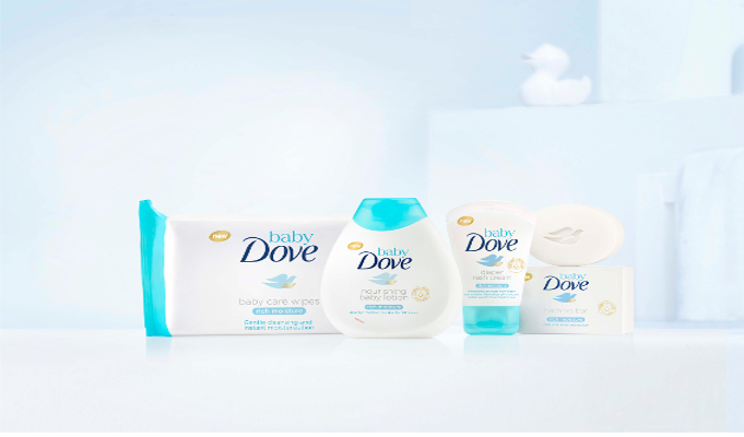 Dove launches baby care products