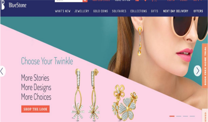 Bluestone expands presence, now available on Myntra