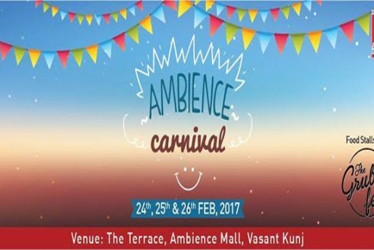 Ambience Mall to host 'Ambience Carnival'