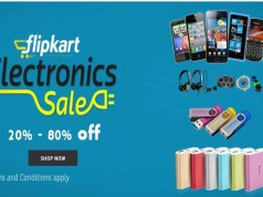 Flipkart to hold three-day long electronics sale