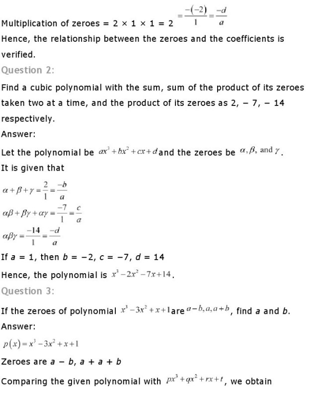 NCERT Solutions for Class 10th Maths Chapter1 3