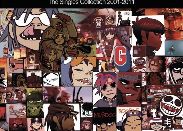 Gorillaz-Singles-Collection