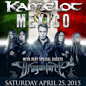 Kamelot + DragonForce  en México