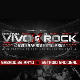 Festival Vivo x el Rock 2015