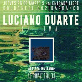 Luciano Duarte en Perú