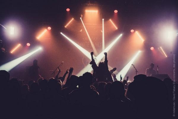 Fat White Family au festival les inRocKs Philips, jeudi 12 novembre 2015, au Grand Mix de Tourcoing.