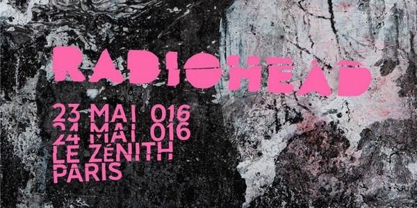 Radiohead - Le Zénith Paris