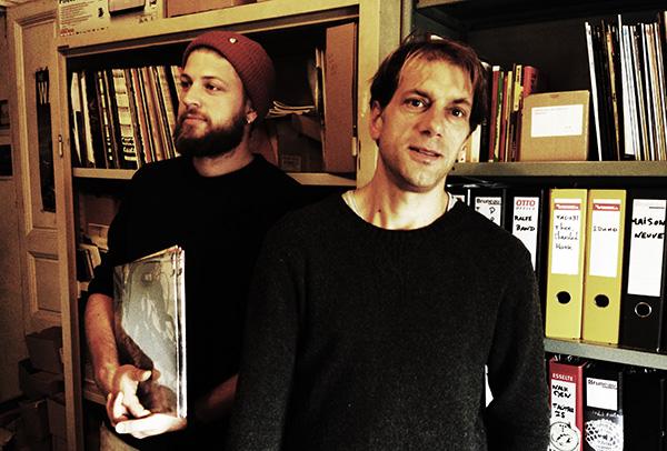 de gauche à droite : Édouard Massonat, chargé de développement et Sean Bouchard, patron de Talitres