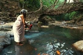 Herrschaft der Frauen in einem indischen Dorf