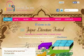 Indiens großes internationales Literaturfestival: Jaipur Literature Festival 2015