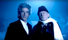 'Doctor Who' Christmas Special Preview: The First Doctor and the Twelfth Doctor Enter the TARDIS — Watch