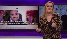 Samantha Bee Says What Everyone Should Be Saying About Aziz Ansari and the #MeToo Backlash — Watch