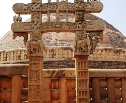 Reportage fotografico dallo Stupa di Sanchi