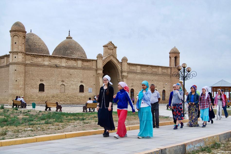 Pellegrinaggio ad Arystan Bab