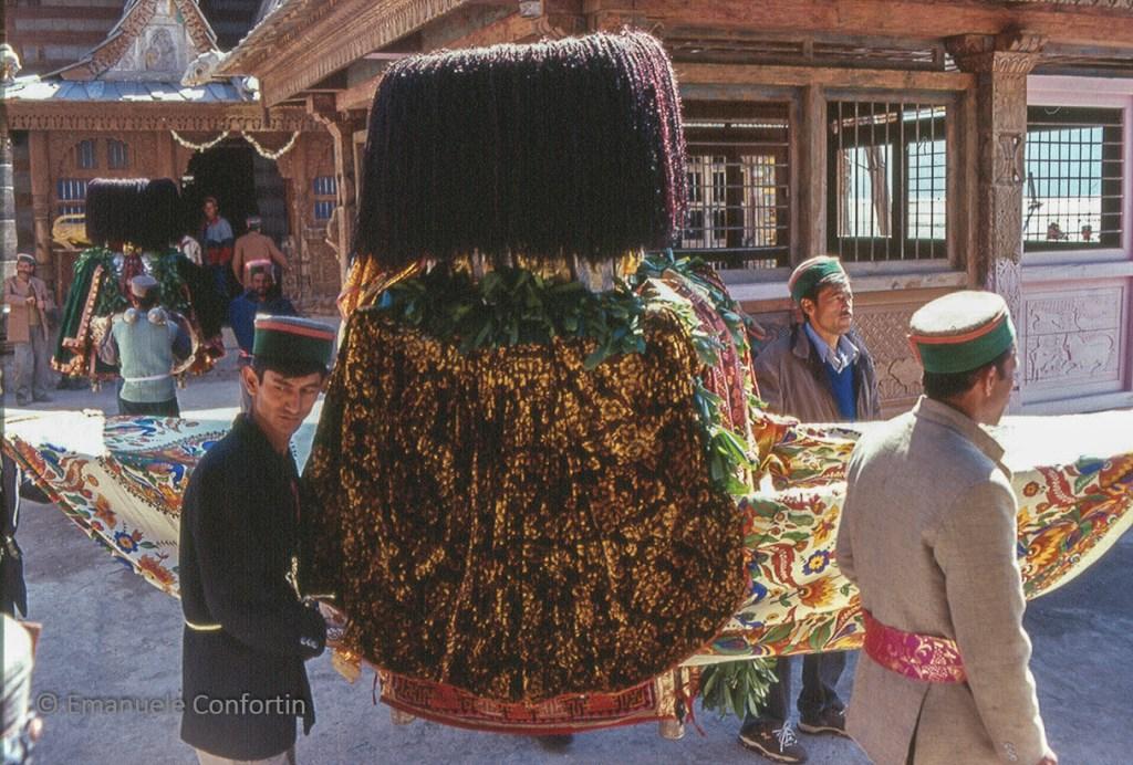 Il rath è il baldacchino sul quale viene trasportata la divinità durante le cerimonie