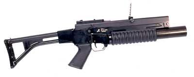 SPG-1 untuk penembakan secara sendiri (stand alone) tanpa senapan