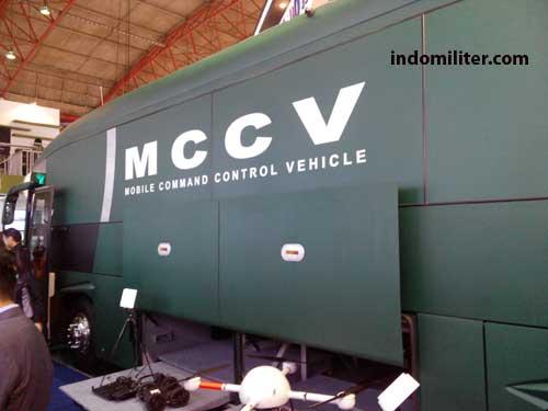 Smart bus MCCV di Indo Defence 2014.