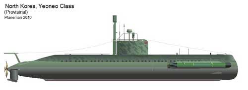 Kapal selam mini Korea Utara - Yeoneo-class