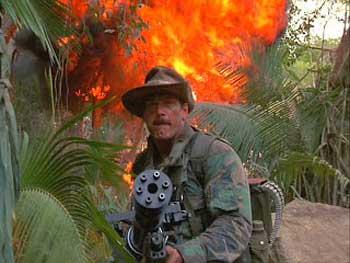 M134 dalam film Predator.