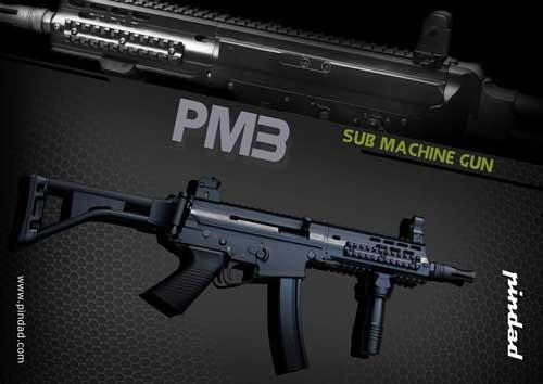 Pindad PM-3: Submachine Gun Produk Dalam Negeri, Andalkan Racikan Desain Assault Rifle dan MP5