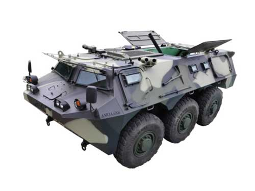 Anoa APS-3 Mortar Carrier.
