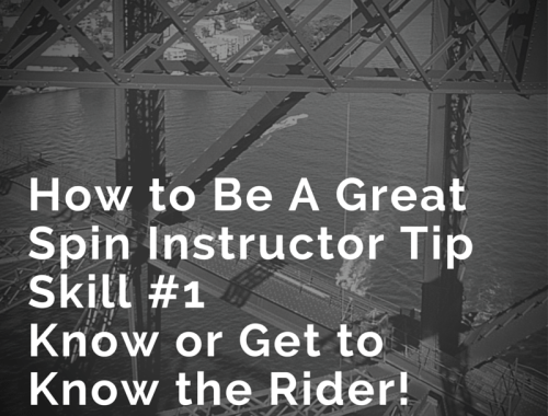 How to Be A Great Spin InstructorSkill