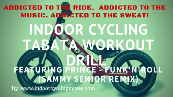 INDOOR CYCLING TABATA WORKOUT DRILL