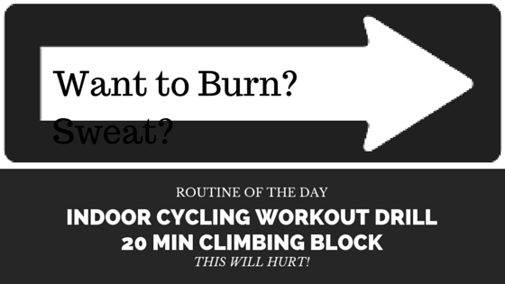 20 Min Indoor Cycling Playlist With Instructions