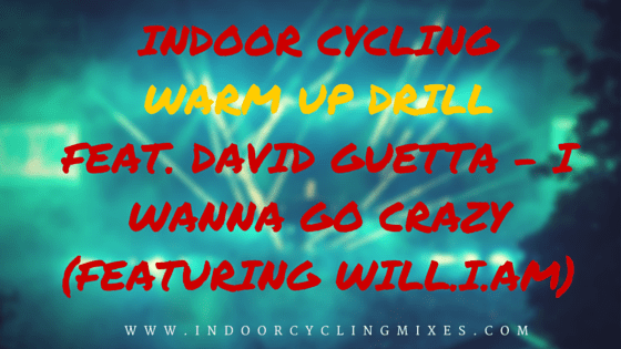 Indoor Cycling Warm Up Drill feat. David