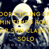 Indoor Cycling Drills 60 Min Tempo Routine