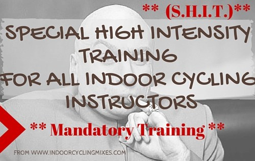 Special High Intensity Training for Indoor Cycling Instructors