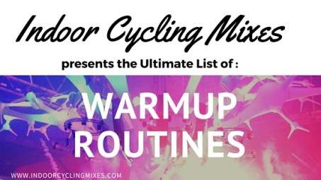 Indoor Cycling and Spin Class Warm Up Drills