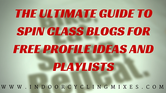 he Ultimate Guide to Spin Class Profile Ideas and Playlists