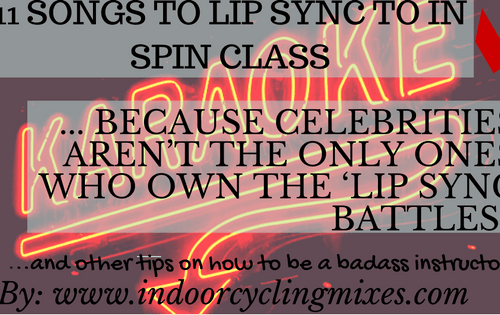 Indoor Cycling And Spin Class  Sing Along Ideas