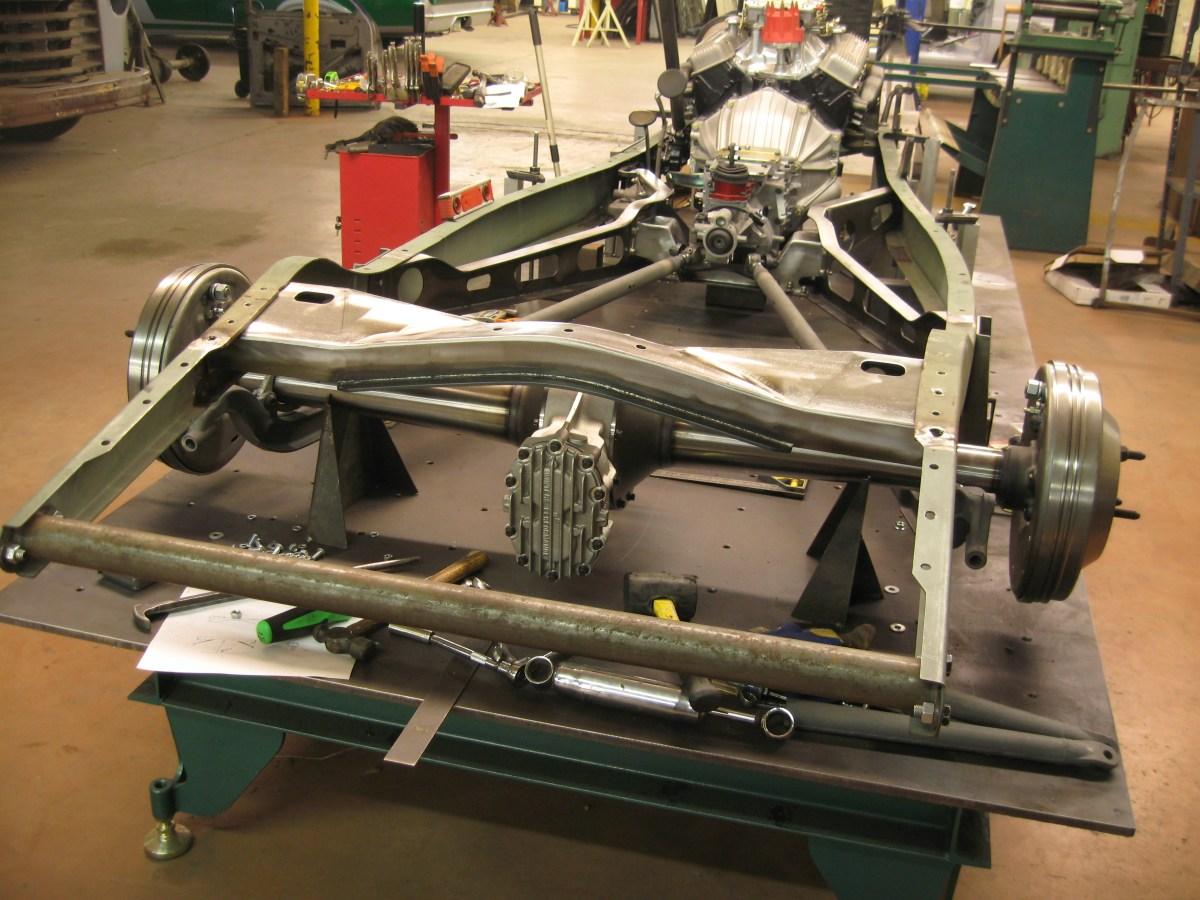 1932 Ford Hybrid Rear Spring Crossmember