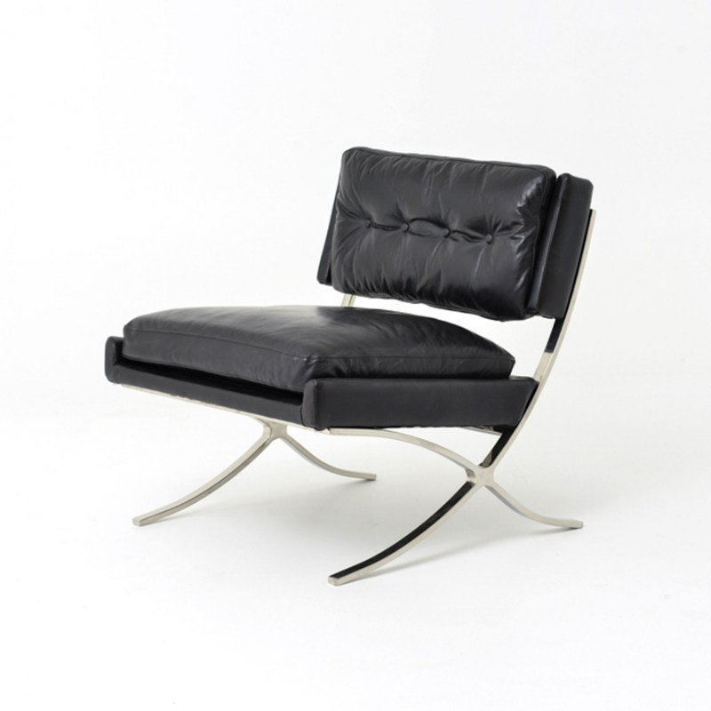 Large Of Contemporary Leather Lounge Chair