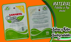 Bolsas y Rollos Biodegradables