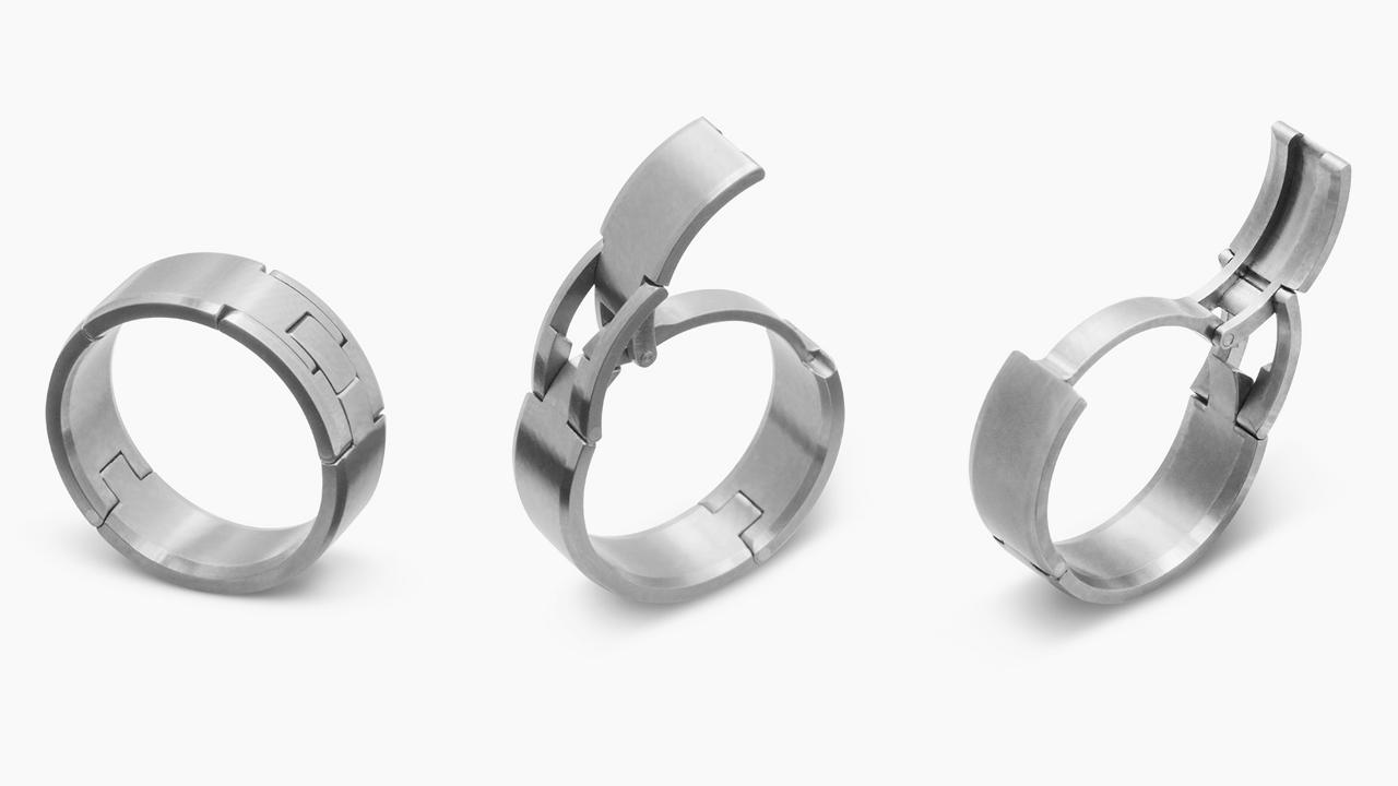wedding rings for guys Revolutionary Concept Improves Wedding Rings For Men