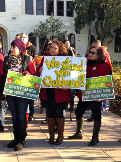 Day Two of Oakland Teachers' Strike: Picket Lines, Bargaining Update, Messages of Solidarity ...