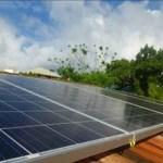Painel Solar Fernando de Noronha